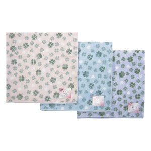 Japanese Pattern Gauze Handkerchief Clover Double Gauze Disposal