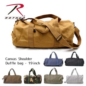 Los Canvas Shoulder Bag Duffle Bag Overnight Bag Bag Larger