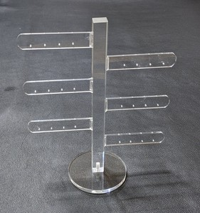 Pierced Earring Stand Tree type Maximum Assembly Easy Pierced Earring Stand Up