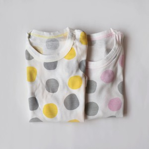 2 Pcs Dot Short Sleeve Rompers