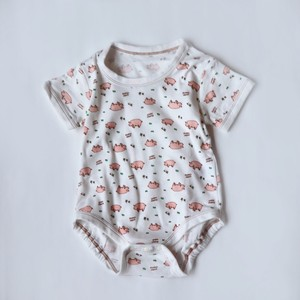 2 Pcs pig Short Sleeve Rompers