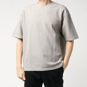 S/S Pearl Knitted Waffle Dry Short Sleeve Big T-shirt