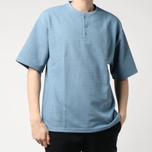 S/S Pearl Knitted Waffle Dry Short Sleeve Big Henry T-shirt