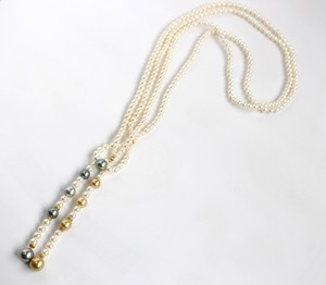 Akoya Pearl Pearl Necklace Akoya Lariette