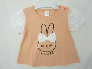 Lace Ribbon Attached Bag Switch T-shirt