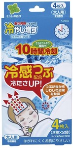 Refrigerant Hiyashimasu Cooling Patch 4 Pcs For adults Mint Aroma 20 Sets