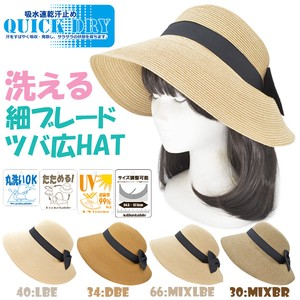 S/S Washable Hat Water Absorption Fast-Drying Sweat stopper Adjustment Attached