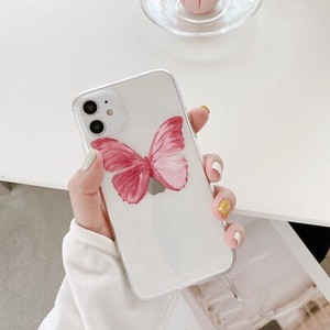 iPhone Transparency Retro Butterfly iPhone Smartphone Case Case