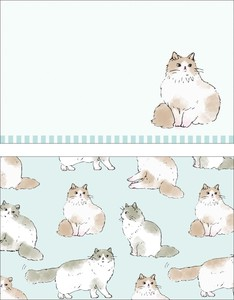 Animals cat Cat Japan Card