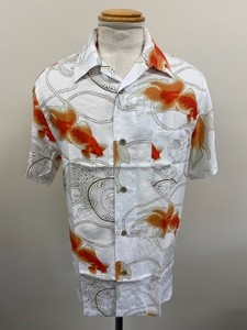 S/S 9 Colors Rayon Aloha Open Color Shirt Japanese Pattern