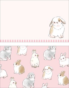 Animals Rabbit Japan Card