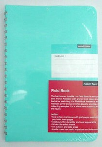 Field Notebook Blue