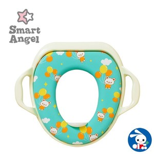 Antibacterial Handle soft Toilet Seat Sheet Polar Bear