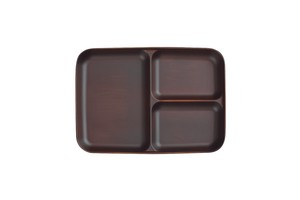Partition Plate Dark Brown Cracking