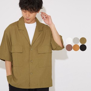 S/S Tailored Color Short Sleeve Shirt Jacket