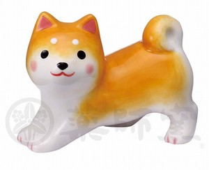 Taste Dog Weather Shiba Dog Chopsticks Stand Ornament 3 Pcs Set