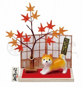 Taste Dog Weather Shiba Dog Autumn Leaves
