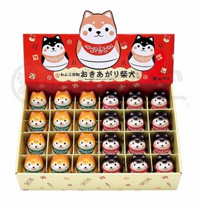 Taste Dog Weather Rising Shiba Dog Display Set