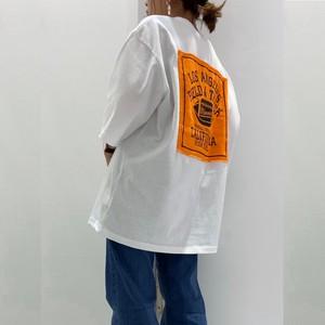 【2020春夏】(即納) プリント パッチ ビッグ Tシャツ トップス