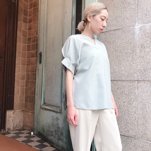 [ 2020NewItem ] Tuck Cuffs Non-colored Blouse