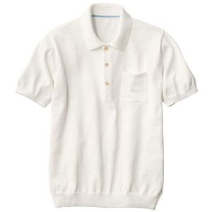 Knitted Polo Shirt Short Sleeve