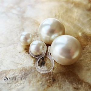 Hall Pierced Earring Resin Pearl Earring