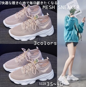 Mesh Sneaker Daily Shoes Beautiful Legs Light-Weight Walking Shoes