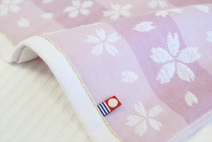 IMABARI TOWEL Gauze Weaving Sakura Towel