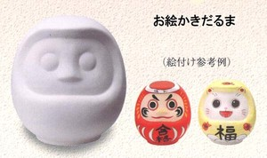 Ornament Daruma Piggy Bank