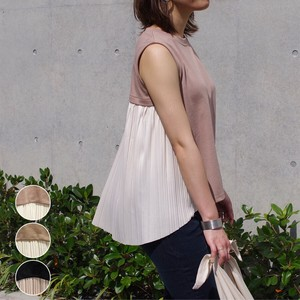 Cut ponte fabric Bag Pleats Top mitis