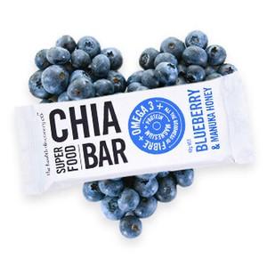 チアバー ブルーベリーとマヌカハニー Chia Bar - Blueberry and Manuka Honey