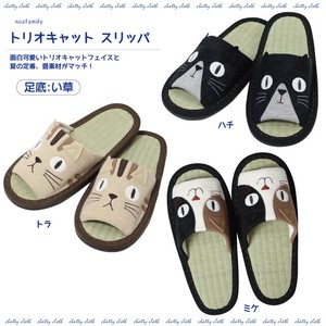 [ 2020NewItem ] Trio Cat Slipper