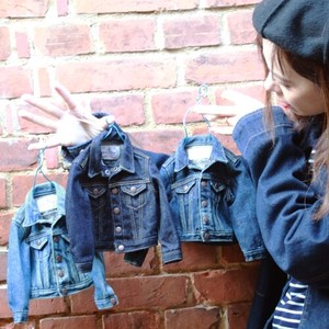 Miniature Jean Jacket Denim Jacket