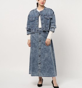Denim Skirt One-piece Dress