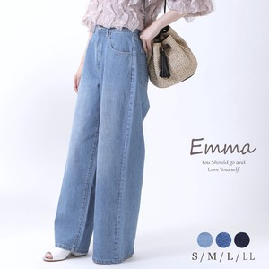 Reinforcement [ 2020NewItem ] wide pants Denim Pants All