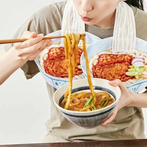 食欲そそる麺タオル