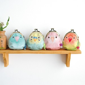 Parakeet Coin Purse