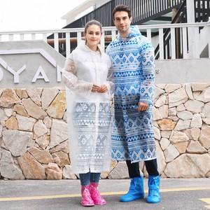 【2020年新作】EVAレインコート 男女兼用型 レインコート 雨具 ゆったり防水レインコート 150CM-190CM
