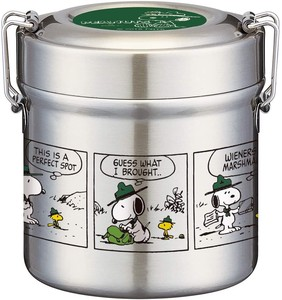 Vacuum Stainless Lunch Box SNOOPY Big