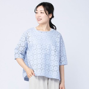 [ 2020NewItem ] peniphass Circle Lace Wide Blouse