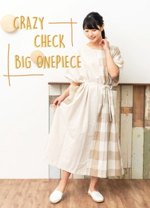 [ 2020NewItem ] Checkered Big One-piece Dress