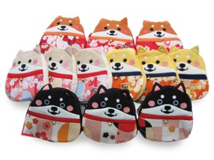 Character Pouch Shiba Dog