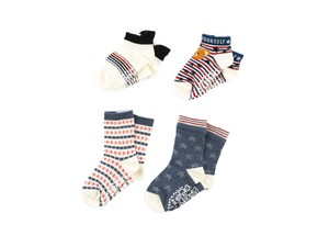 4 Pairs Socks Candy Animal With Non-Slip Baby Kids Kids