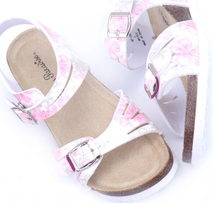 Sandal Heel Flower Wedge Sole Comfort Sandal SC