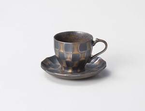 Checkered Checkered Coffee Porcelain