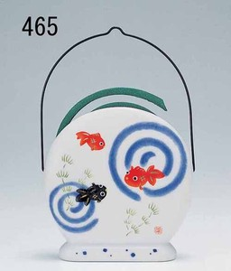 Japanese summer features Ornament Interior Goldfish Mosquito Coil Stand type