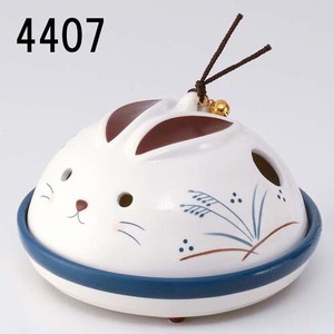 Japanese summer features Ornament Interior Rabbit Mosquito Coil Stand type