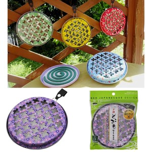 Portable Mosquito Coil Plate Bottle Gourd Anywhere Mosquito Coil Plate Morning Glory