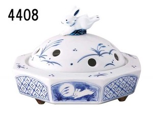 Japanese summer features Ornament Interior Incense Burner Rabbit Mosquito Coil Stand