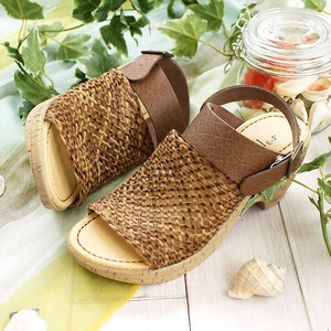 Sandal Mesh Heel Sandal and